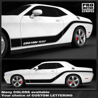 Dodge Challenger 2008-2019 Sport Accent Side Stripes