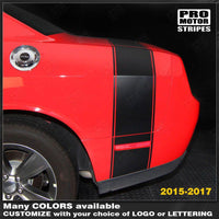 2008 2009 2010 2011 2012 2013 2014 2015 2016 2017 2018 2019 Dodge Challenger side  trunk Decals Stripes 132233724383-1