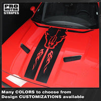 2008 2009 2010 2011 2012 2013 2014 2015 2016 2017 2018 2019 Dodge Challenger hood Decals Stripes 152588451869-1