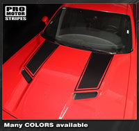 Dodge Challenger 2015-2021 Side Panel Hood Accent Stripes