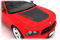 2006 2007 2008 2009 2010 Dodge Charger hood Decals Stripes 132265508676-2