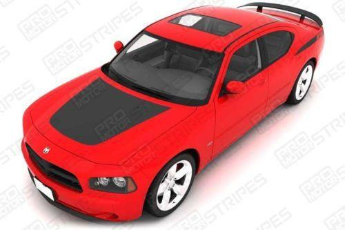 2006 2007 2008 2009 2010 Dodge Charger hood Decals Stripes 132265508676-1