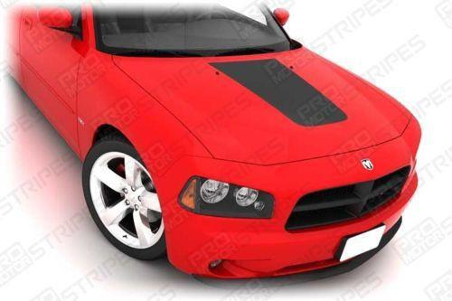 Dodge Charger 2006-2010 Hood Center Accent Stripe Decal Auto Decals - Pro Motor Stripes