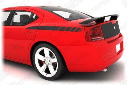 Dodge Charger 2006-2010 Rear Quarter Side Stripes