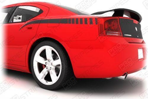 2006 2007 2008 2009 2010 Dodge Charger side Decals Stripes 152630054196-1
