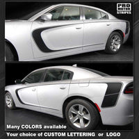 Dodge Charger 2011-2018 Front to Rear Side Accent Stripes