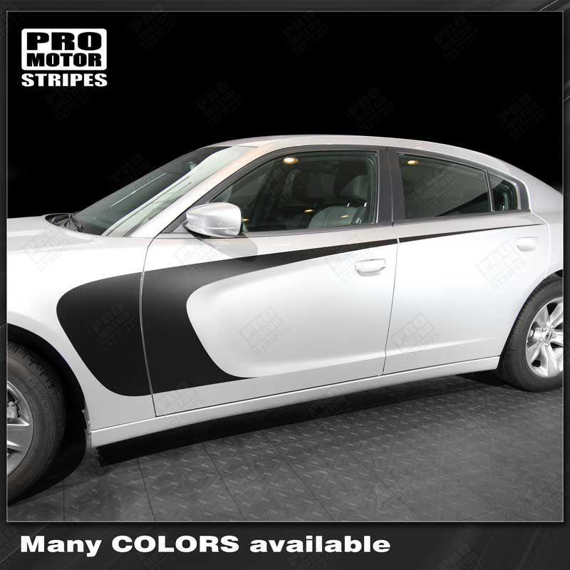2011 2012 2013 2014 2015 2016 2017 2018 2019 Dodge Charger side  door Decals Stripes 152701059354-1