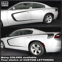 2011 2012 2013 2014 2015 2016 2017 2018 2019 Dodge Charger side  door Decals Stripes 152719802978-1