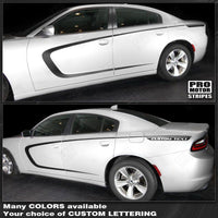 2011 2012 2013 2014 2015 2016 2017 2018 2019 Dodge Charger side  door Decals Stripes 122729533772-1