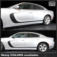 2011 2012 2013 2014 2015 2016 2017 2018 2019 Dodge Charger side  door  rocker panel Decals Stripes 152701062171-1