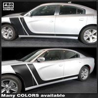 Dodge Charger 2011-2019 Front to Rocker Side Stripes