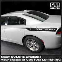 2011 2012 2013 2014 2015 2016 2017 2018 2019 Dodge Charger side  door Decals Stripes 132345635111-1