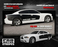 2011 2012 2013 2014 2015 2016 2017 2018 2019 Dodge Charger side  door Decals Stripes 122701951287-2