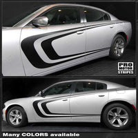 2011 2012 2013 2014 2015 2016 2017 2018 2019 Dodge Charger side  door Decals Stripes 152718187580-1
