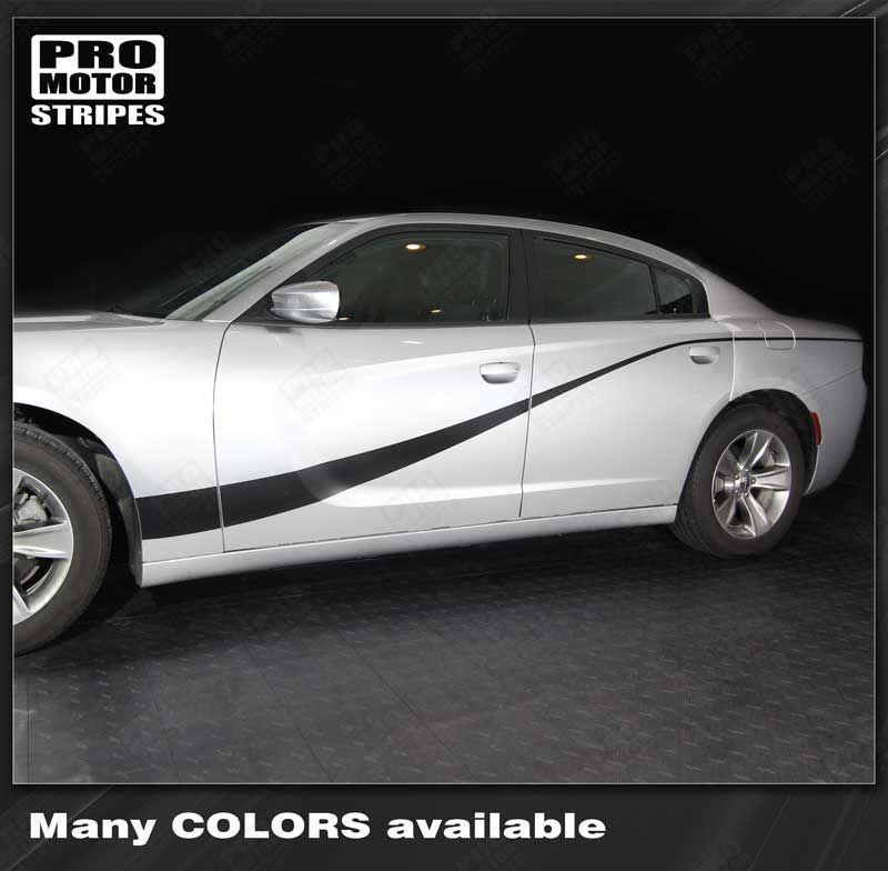 Dodge Charger 2011-2019 Single Accent Side Stripes