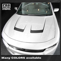 Dodge Charger 2015-2019 Hood Accent Decals Stripes