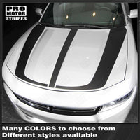Dodge Charger 2015-2018 Hood Accent Decals Stripes