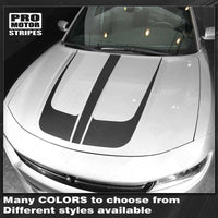 Dodge Charger 2015-2021 Hood Accent Decals Stripes
