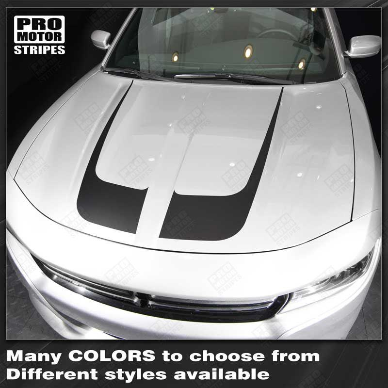 2015 2016 2017 2018 2019 Dodge Charger hood Decals Stripes 132342928347-1