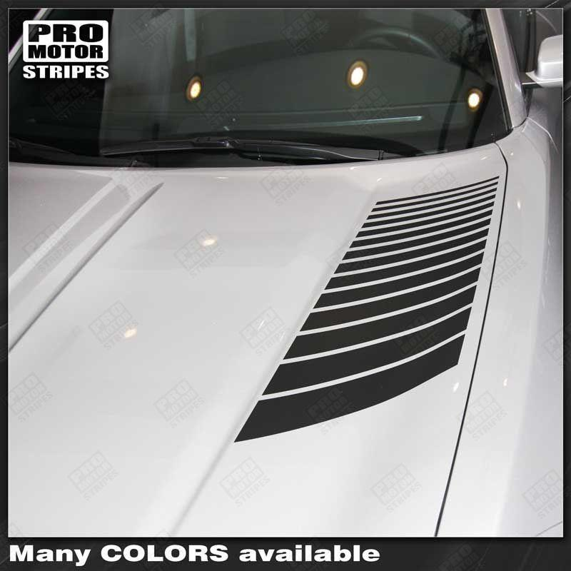 Dodge Charger 2015 2016 2017 2018 2019 Hood Accent Decals Stripes