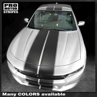 2015 2016 2017 2018 2019 Dodge Charger hood  trunk  bumper  roof Decals Stripes 122725595562-2