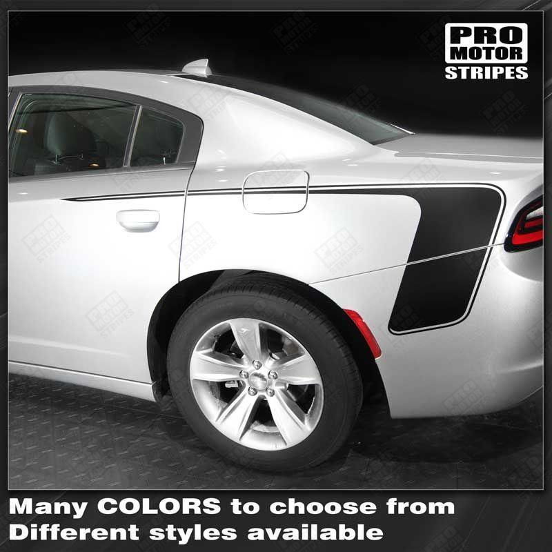 2015 2016 2017 2018 2019 Dodge Charger side Decals Stripes 132326729279-1