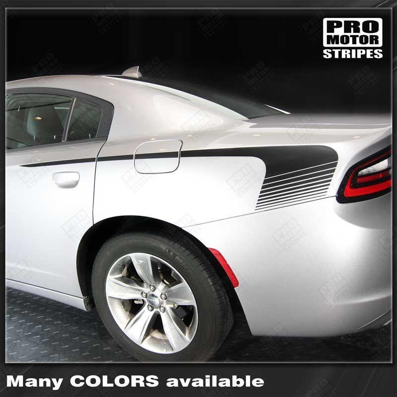 2015 2016 2017 2018 2019 Dodge Charger side Decals Stripes 152701108592-1