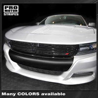 Dodge Charger 2015-2019 SXT/SE (base) Front Bumper Blackout Decal Stripe