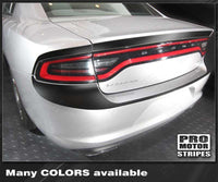Dodge Charger 2015-2019 Trunk Deck & Rear Blackout Stripes