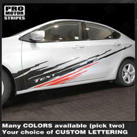 Dodge Dart 2013-2018 Dirt Splash Sport Accent Side Stripes