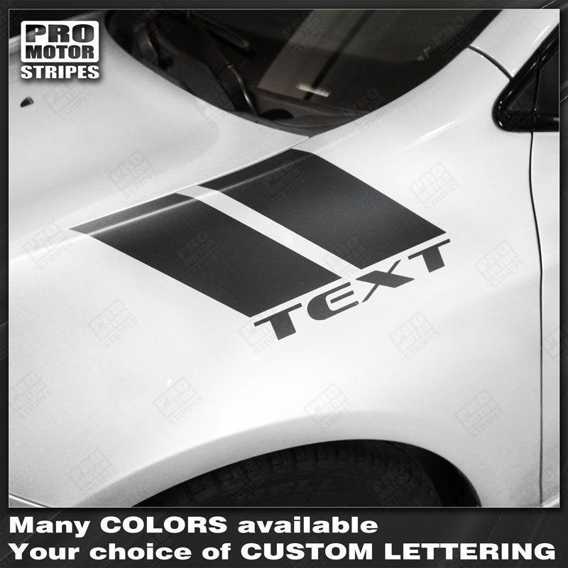 2013 2014 2015 2016 2017 2018 Dodge Dart side Decals Stripes 132353998815-1