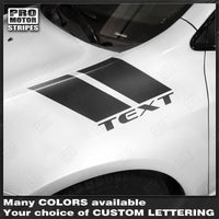 Dodge Dart 2013-2018 Fender Hash Side Stripes Accent Decals