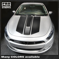 Dodge Dart 2013-2018 Hood Accent Stripes