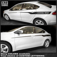 2013 2014 2015 2016 2017 2018 Dodge Dart side  door Decals Stripes 122738057173-1