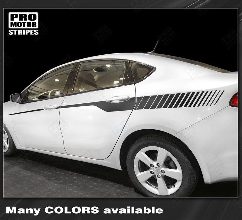2013 2014 2015 2016 2017 2018 Dodge Dart side  door Decals Stripes 132350405261-1
