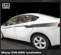 Dodge Dart 2013-2018 Javelin Strobe Side Accent Stripes