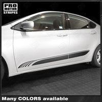 2013 2014 2015 2016 2017 2018 Dodge Dart side  door  rocker panel Decals Stripes 152732500215-1