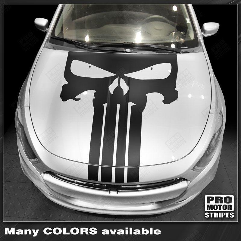 2013 2014 2015 2016 2017 2018 Dodge Dart hood Decals Stripes 132349215917-1