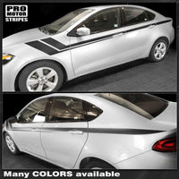 Dodge Dart 2013-2018 Side Accent Fender Hash Long Stripes