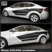2013 2014 2015 2016 2017 2018 Dodge Dart side  door Decals Stripes 122732932527-1