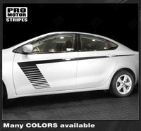 2013 2014 2015 2016 2017 2018 Dodge Dart side  door Decals Stripes 152757170661-1
