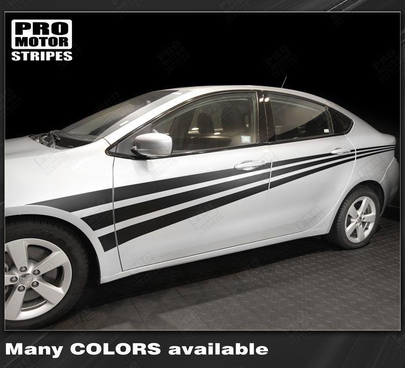 2013 2014 2015 2016 2017 2018 Dodge Dart side  door Decals Stripes 152722713219-1
