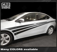 Dodge Dart 2013-2018 Side Accent Triple Stripes