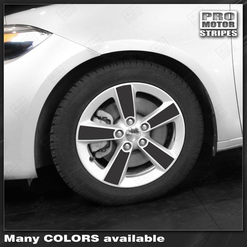 2013 2014 2015 2016 2017 2018 Dodge Dart wheel Decals Stripes 152755627722-1
