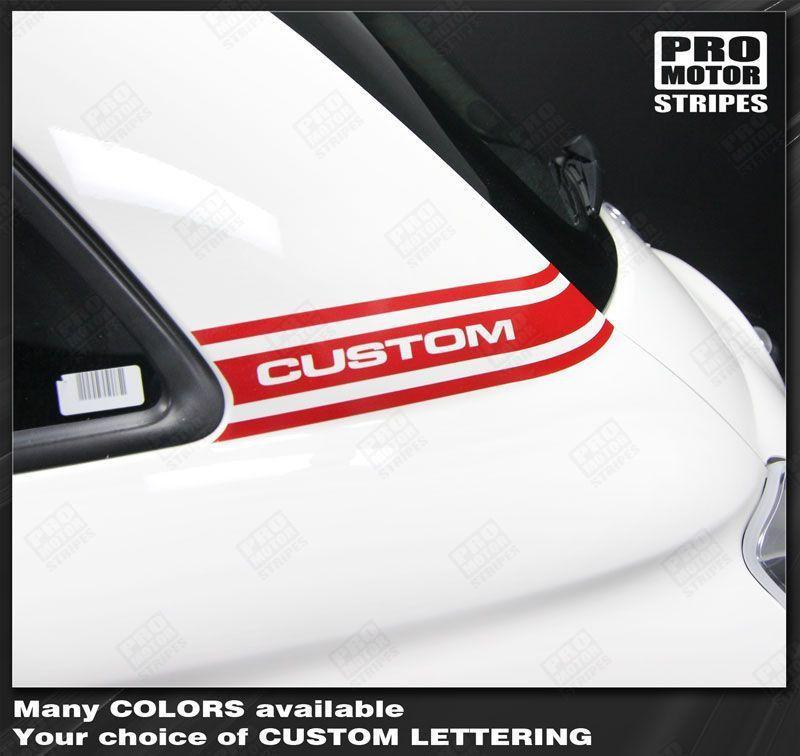 2007 2008 2009 2010 2011 2012 2013 2014 2015 Fiat 500 side Decals Stripes 152588457506-1
