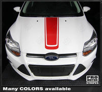 2011 2012 2013 2014 Ford Focus hood Decals Stripes 132229432258-2