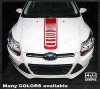 2011 2012 2013 2014 Ford Focus hood Decals Stripes 132253340705-1