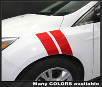 2011 2012 2013 2014 2015 2016 2017 2018 Ford Focus side Decals Stripes 152615281875-2