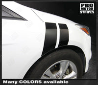 Ford Focus 2011-2018 Fender Hash Side Stripes