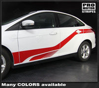 Ford Focus 2011-2018 Front-to-Rear Side Accent Stripes